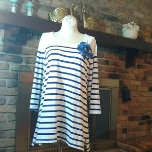Coldwater Creek embellished t shirt